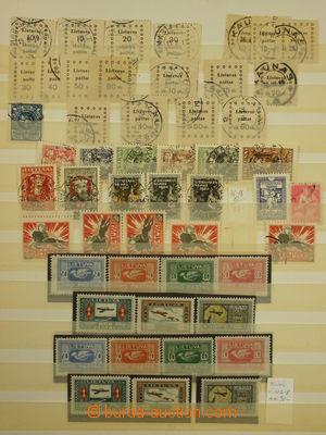 173347 - 1919-1934 [SBÍRKY]  malá sbírka na starých listech, mj. Mi.9