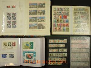 173349 - 1930-90 [SBÍRKY]  ARŠÍKY  sbírka aršíků v zásobníku A4 + 4x