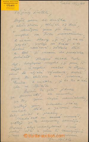 173411 - 1936 BIDLO František (1895-1945), významný český kreslíř, ka