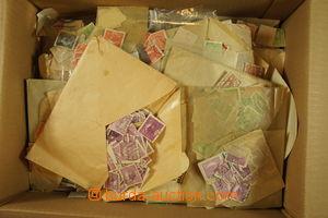 173459 -  [SBÍRKY]  sbírka razítkovaných zn. v zaplněném zásob