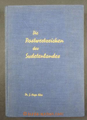 173460 - 1963 Die Postwertzeichen des Sudetenlandes, autor Dr. J. Hug