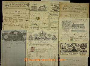 173465 - 1880-1930 RAKOUSKO-UHERSKO / ČSR I.  sestava 14 firemních