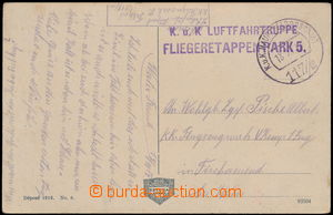 173557 - 1917 K.u.K. LUFTFAHRTRUPPE/ FLIEGERETTAPENPARK 5., pohlednic