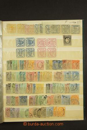 173567 - 1858-1943 [SBÍRKY]  obchodní zásoba zn. a aršíků v plném sta
