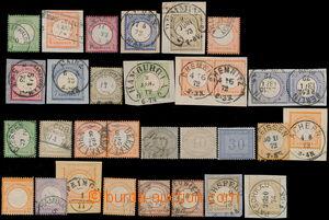 173578 - 1872 Mi.2-11, 12-13, 14-15, 16, 18, 21-22, sestava raz. zn.