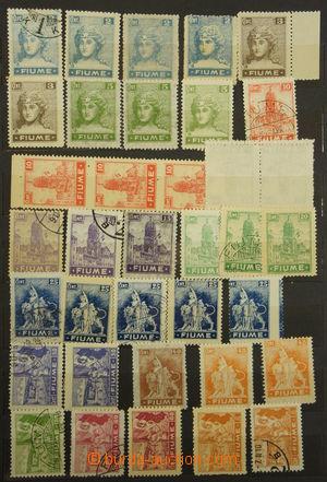 173662 - 1918-1924 [SBÍRKY]  menší sbírka na 8 listech v menším zásob
