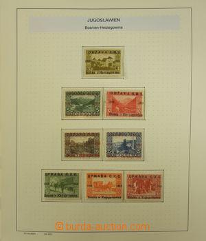 173664 - 1919-43 [SBÍRKY]  pěkná sbírka na albových listech Schaubek,