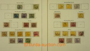 173668 - 1854-1912 [SBÍRKY]  neúplná specializovaná sbírka na 10 voln