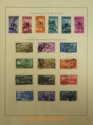 173669 - 1945-54 [SBÍRKY]  sbírka na listech, obsahuje razítkované zn
