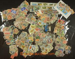 173785 - cca 1860-1970 [SBÍRKY]  cca 1500 známek, část velké pozůstal