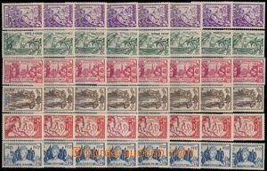 173787 - 1937 OMNIBUS/  sestava 19 sérií Mezinárodní výstava Paříž 19