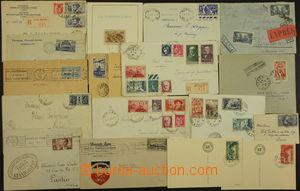 173796 - 1931-1939 16 celistvostí s Mi.316, 317, 359, 360 aj., obálka