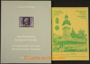 173803 - 2000-08 Specialkatalog Karpaten - Ukraine, autor G. von Stei