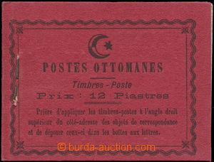 173822 - 1913 Mi.215, kompletní známkový sešitek, obsahuje 24ks zn. 2