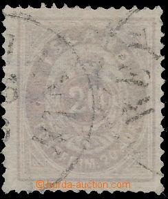 173844 - 1876 Mi.10Aa, Číslice s korunou 20 Øre, fialová, DR REY
