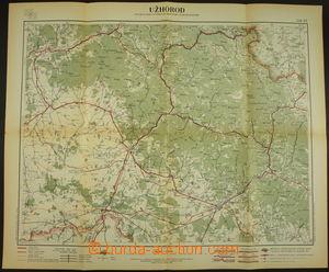 173868 - 1930 AUTOMAPA UŹHOROD a okolí, Oficiální mapa autoklubu