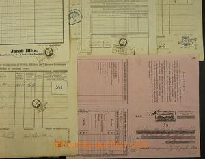 173893 - 1852-70 RAKOUSKO-UHERSKO   sestava 27ks nákladních listů, vy
