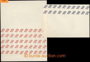 173908 -  OLOMOUC  ZT přetisku  POŠTA / ČESKOSLOVENSKÁ / 1945, otisk