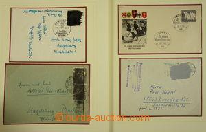 173938 - 1950-88 [SBÍRKY]  POŠTOVNÍ VÁLKA - Německo  sbírka celistvos