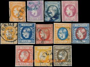 174020 - 1868-1871 Mi.17-28, 3 kompletní série, Vévoda Karel I.; něko