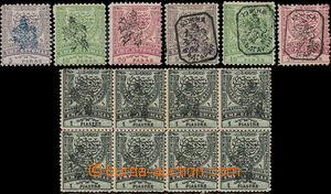 174021 - 1885 VÝCHODNÍ RUMÉLIE  Mi.14IBa, 16IBb, 18IIBb, 22IB (!),