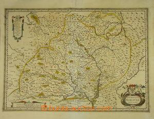 174436 - 1620-40 KOMENSKÉHO MAPA MORAVY  mapa Markrabství moravského
