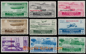 174474 - 1935 Mi.157-163, letecké + Mi.164-165, Letetecké spěšné, 100