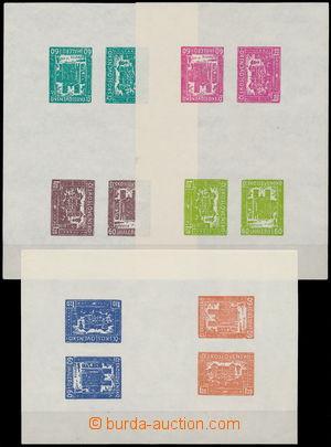 174487 -  BUČOVICE  sestava 10ks soutisků novotisku bučovického vydán