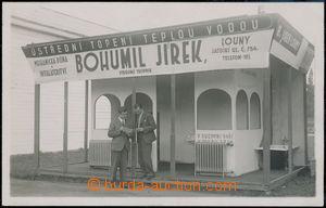 174527 - 1935? LOUNY - BOHUMIL JIREK, strojní technik, čb fotopohle