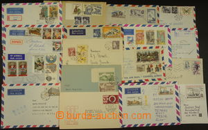 174683 - 1954-88 [COLLECTIONS]  selection of 34 pcs of letters sent a