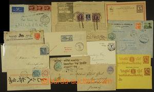 175034 - 1890-1948 sestava 13ks zajímavých celistvostí, mj. telegram
