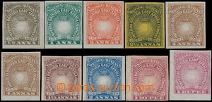 175080 - 1890-1895 SG.4-14, 10ks Light and Liberty 1/2-1Rp (1x s průs