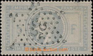175302 - 1869 Mi.32, Napoleon 5F, číslicové raz. 35; pěkná kvali