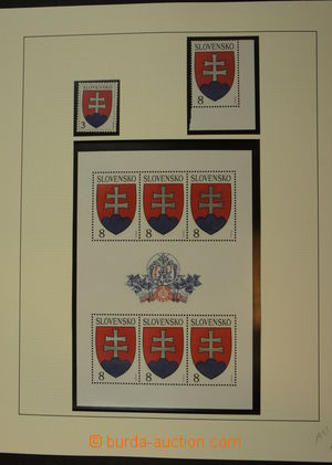 175704 - 1993-2001 [SBÍRKY]  generální sbírka na listech v pérových d