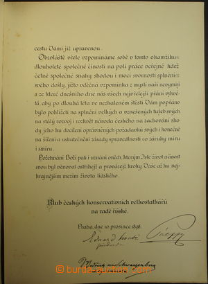 7c1c80aca Autographs / Public auction 47 | Burda Auction (Filatelie Burda)