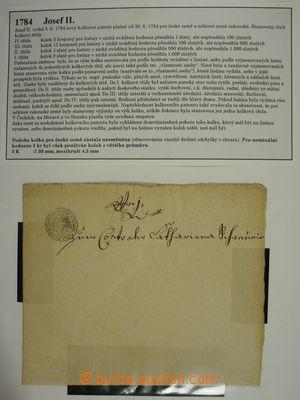 176316 - 1762-1803 [SBÍRKY]  HABSBURSKÁ MONARCHIE / SIGNETY rozsáhlá