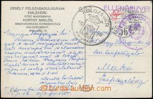 178437 - 1940 OBSAZENÍ SEDMIHRADSKA  propagandistická pohlednice ze s