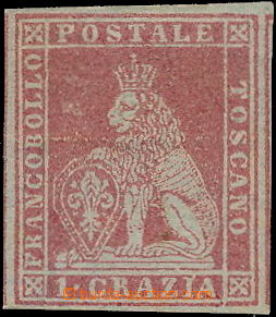 180756 / 208 - Filatelie / Evropa / Itálie / Staroitalské státy / Toskánsko