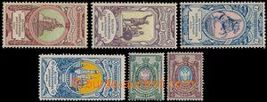 181420 - 1889-1904 Mi.52y-53y, 57-60, Váleční sirotci 3K-10K + Znak 2