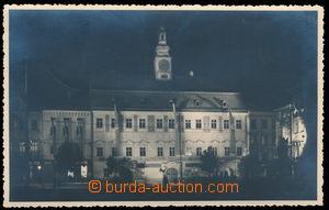 182658 - 1939 JIHLAVA - town-hall vyzdobena nazism batt./guidons, nig
