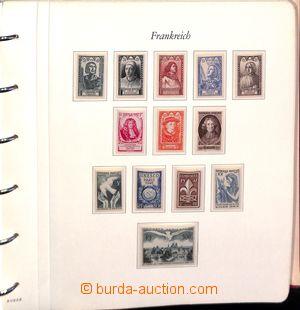 182702 - 1945-90 [SBÍRKY]  pěkná generální sbírka ve 3 albech na list