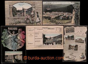 182714 - 1900-07 MARIÁNSKÉ LÁZNĚ (Marienbad) -  comp. 5 pcs of variou