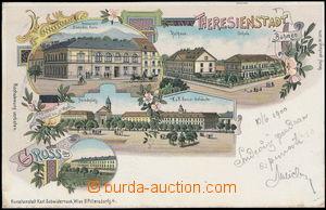 182718 - 1900 TEREZÍN - vícezáběrová lito, DA, vydal Schwidernoch; pr