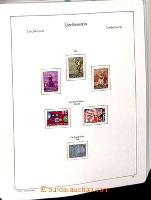 182732 - 1960-2000 [SBÍRKY]  téměř kompletní sbírka v pérových deskác