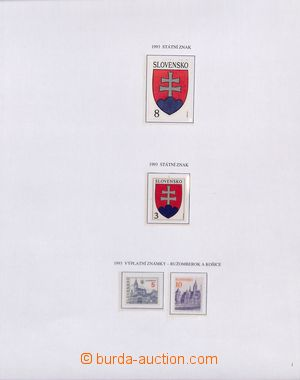 183027 - 1993-2010 [SBÍRKY]  mimořádná kompletní sbírka na listech Tr