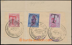 183276 - 1915 local issue Shkodra, postage-due Mi.P1-3, Skandenberg 1