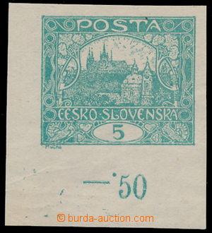 183430 -  Pof.4 Is, 5h modrozelená, levý dolní rohový kus, spirálový
