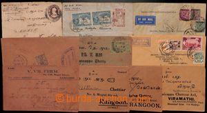 183447 - 1922-1951 10 letters (1 COB), 7x Indian forerunner - pre-pri