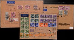 183545 - 1932-1945 5 Let-dopisů, z toho 4 konzulární dopisy čs. konzu