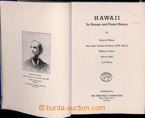 183912 - 1948 HAVAJ / the STAMPS OF HAWAII, H.A. MEYER, ADMIRAL F.R.
